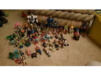 Action Figures Bundle, Over 60 items