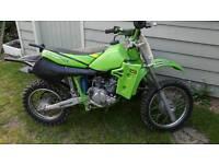 Kawasaki kx60 motocross
