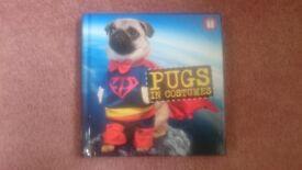 Pugs in Costumes book, hardback