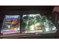 Parrot magazines