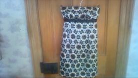 Lovely Principles strapless dress in excellent condition size 8