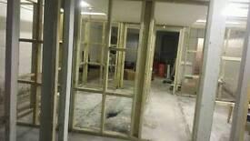 A basement storage