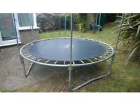 8ft plum trampoline without enclosure net