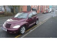 Chrysler PT CRUISER, low mileage 60812, 1 owner, 1 year Mot.