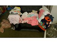 Girls bundle first size and 0-3 months