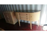 Sideboard with matching chest for sale,Possible Delivery