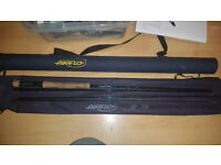 Airflo Fly Rod 10ft 7/8wt with rod tube.