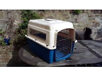 IATA approved travel crate for medium dog
