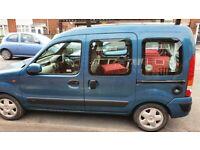 Renault, KANGOO, MPV, camper\day van 1.6 auto