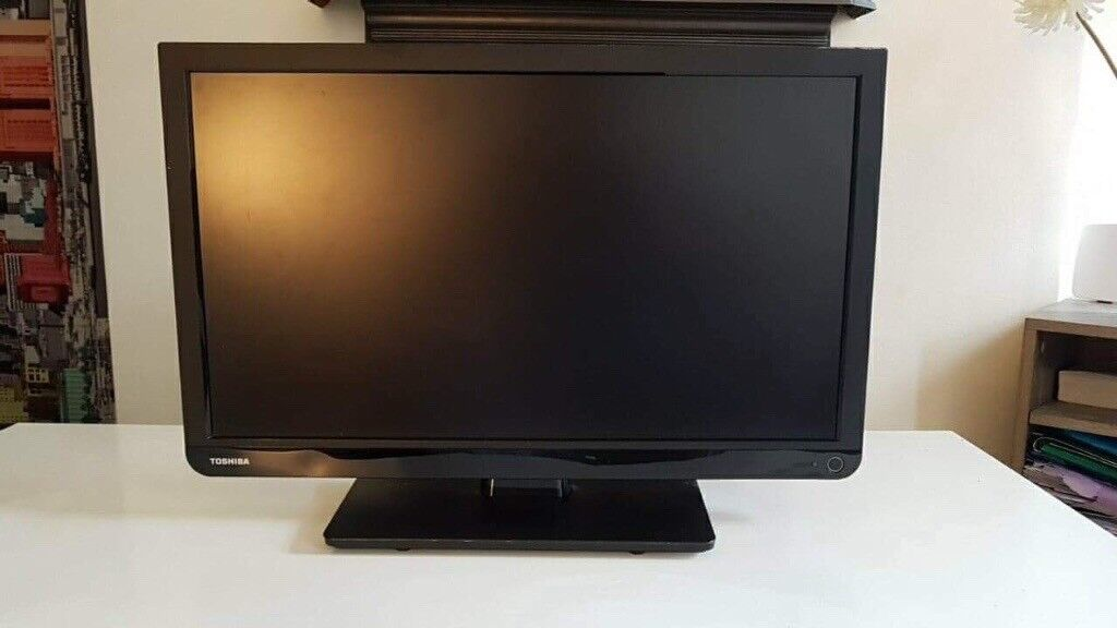 ***NEW TOSHIBA 22' FULL HD TV WITH BUILT IN DVD PLAYER***