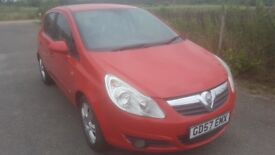 VAUXHALL CORSA 1.4 1 OWNER HALF LEATHER FULLY LOADED 1 YRS MOT
