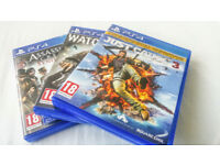 BRAND NEW CHEAP PS4 Games - BARELY USED!!