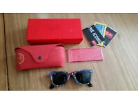 Limited addition ladies Ray Ban sunglasses