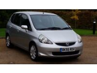 HONDA JAZZ 1339cc SE 56PLATE 2006 2P/LADY OWNER 84000 MILES FULL SERVICE HISTORY AIRCON ALLOYS 5DR