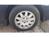Rover 75 alloys with tyres