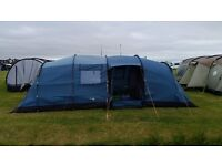 Excellent family tent. Easy to put up. Just too big for us now. Excellent condition