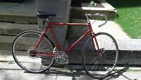 Red road bike for sale