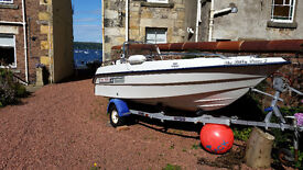RYDS 440GT Sports Fast Fisher Day Boat & 40HP Johnstone Electric Trim & Tilt Outboard £4,295 ono