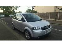 AUDI A2 1.4 SERVICE HISTORY LOW MILES FOR YEAR ONLY 90K 1YR MOT STARTS AND DRIVES SUPERB £895