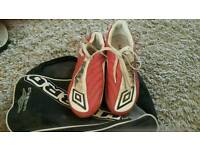 Football boots & case
