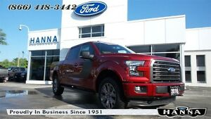 2016 Ford F-150 *NEW* SUPER CREW XLT*SPECIAL EDITION*302A*4X4 5.