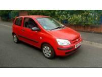 Hyundai Getz 1.1 (2006) motd, low miles, cheap insurance