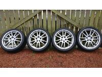 5x100 17 inch Vw Golf/Skoda/Seat Alloy wheels.