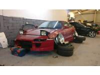 Toyota Mr2 - Bc racing coilovers