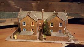 Hornby railway terraced houses