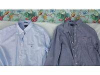 "Gant Long Sleeve Shirts 18"" Collar"