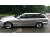 Bmw 530 D 2.5 turbo diesel estate mot July 2018 very good condition with tow car