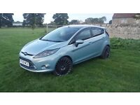 New shape Ford Fiesta 1.4tdci 5 door **ST mods Stunning car** may take cheap px