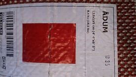 Deep Red Ikea rug . Excellent condition