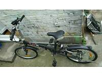 FOLD UP BIKE GOOD CONDITION WITH CARRY BAG