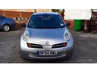 2005 NISSAN MICRA 1.2 AUTOMATIC,66000 MILES ONLY, FULL VOSA/SERVICE HISTORY, MOT AUG.2017,HPI CLEAR