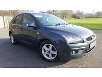 2008 FORD FOCUS TITANIUM 1.8 TDCI GUNMETAL GREY 5 DOOR 1 YEAR MOT -TOP SPEC