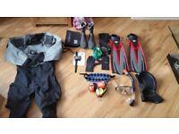 SCUBA gear (inc Dive computer & Dry Suit)