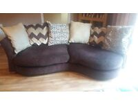 CUDDLE CHAIR AND CHAISE LOUNGE SOFA SET