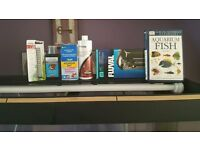 FISH TANK Fluval roma 200 with oak stand FISH TANK 3 months old used once immaculate condition!!!!!!
