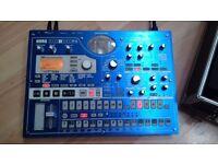 Korg EMX 1 Drum Machine/Workstation with the Case - Good Condition