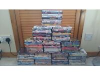 100 Assorted DVDs For sale