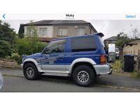 1996/ N REG Mitsubishi Pajero GREAT DIESEL 4X4 FOR THE WINTER - RARE MANUAL MODEL