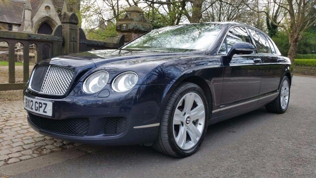 2012 Bentley Continental Flying Spur Full Bentley Service History