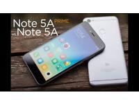 NEW UNLOCKED XIAOMI REDMI NOTE 5A PRIME 4G LTE 3GB/32GB 16MP FRONT/13MP REAR CAMERA 3100mAh Grey