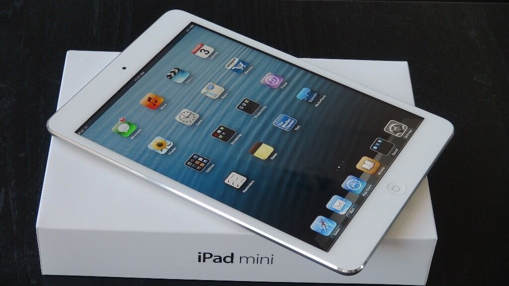 IPAD MINI WHITE/SILVER16GBWIFI ONLYin Leicester, LeicestershireGumtree - IPAD MINI WHITE/SILVER 16GB WIFI ONLY MODEL (NOT 3G) COMES WITH BOX AND CHARGER IN EXCELLENT WORKING CONDITION SELLING FROM A SHOP COMES WITH WARRANTY AND RECEIPT FULLY TESTED BY OUR SENIOR TECHNICIAN OTHER ACCESSORIES AVAILABLE FOR PURCHASE IN STORE...