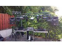 full disco / karaoke / live singer setup with Dynacord powermate 1000