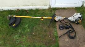 Ryobi Petrol grass strimmer trimmer. Electric/pull start. Very good condition