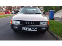 CLASSIC 1987 AUDI 80 S AUTOMATIC GOLD IMMACULATE