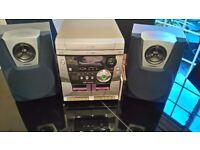 Samsung MAX-900 power bass reflex system 3 disc changer