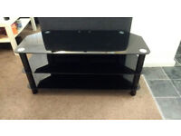 Premier Glass Stand for 42-50 inch LCD/LED TV - Black
